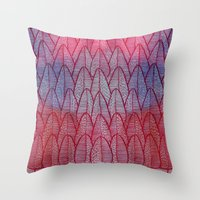 Leaves / Nr. 6 Throw Pillow