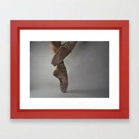 Ballet-Coupé Framed Art Print