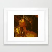 Egyptian Princess Framed Art Print
