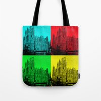 York Minster Pop Art Tote Bag