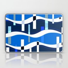blue waves Laptop & iPad Skin