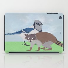 Mordecai and Rigby iPad Case