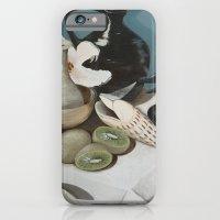 Kiwi Fruit & Lillies iPhone 6 Slim Case