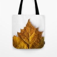 Autumn Leaf - Yellow Tote Bag