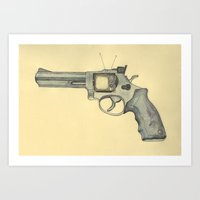 killer television Art Print