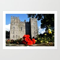 Bunratty Roses Art Print
