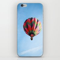 Lighter Than Air - Balloon  iPhone & iPod Skin
