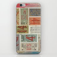Ticket To Ride iPhone & iPod Skin