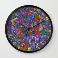 - summer mind - Wall Clock