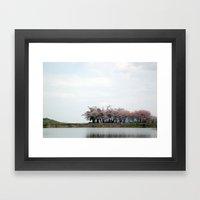 Spring Pond Framed Art Print