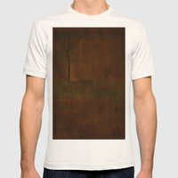 Sharaz Mens Fitted Tee Natural SMALL