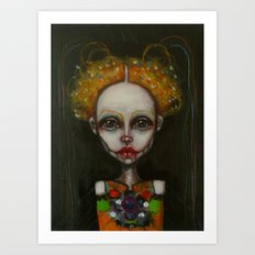 girlb Art Print