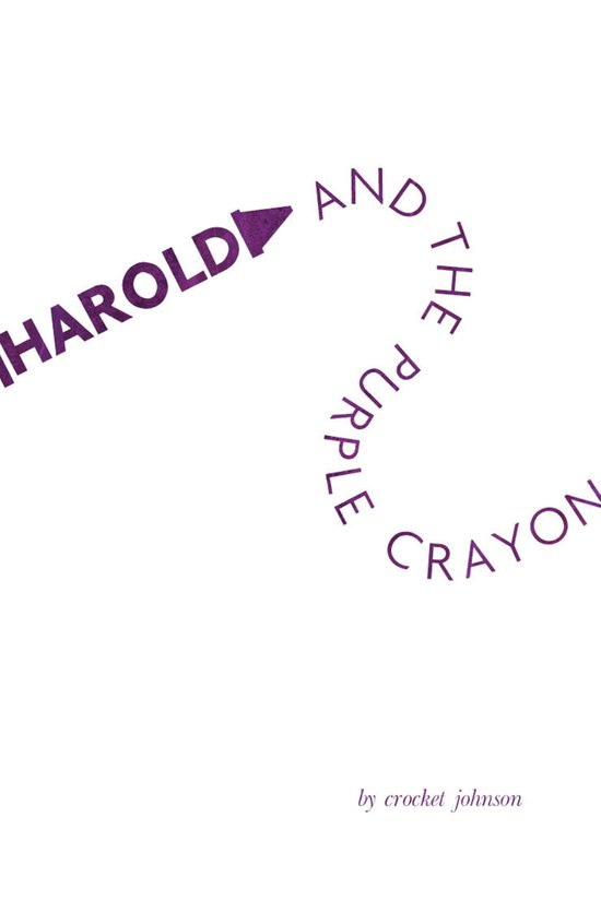 Harold and The Purple Crayon; Crocket Johnson Book Cover Redesign Art Print