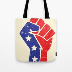 Revoltion Party Fist Tote Bag