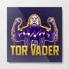 Tor Vader Metal Print