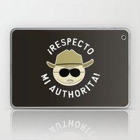 Respecto Mi Authorita! Laptop & iPad Skin