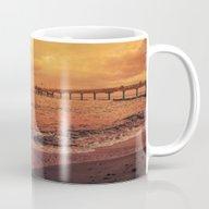 Sundown At The Sea Mug