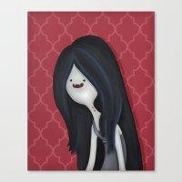 The Vampire Canvas Print