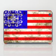 An American flag iPad Case