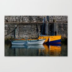 Carnlough Harbour Canvas Print