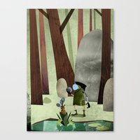 The Potion Maker Canvas Print