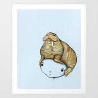Minor Headache Art Print