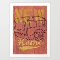 Nice New Home Art Print