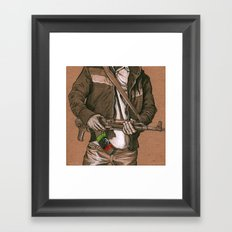 Freedom Fighter Framed Art Print