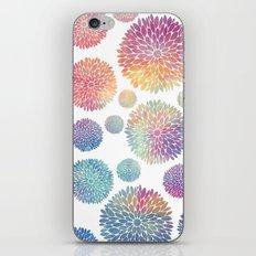 Watercolor Flowers iPhone & iPod Skin