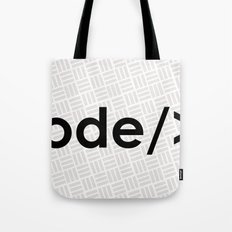 design + code = ♥ Tote Bag