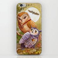 Someone To Watch Over Me… iPhone & iPod Skin