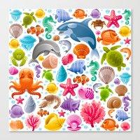 Sea Of Life Canvas Print