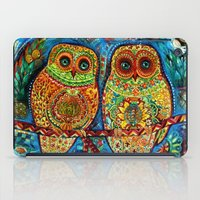 Byzantine owls iPad Case
