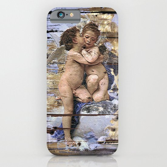 Kissing for Peace iPhone & iPod Case