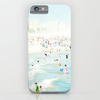 iPhone Cases featuring Peeps Dips by Mina Teslaru