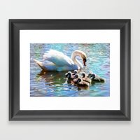 CYG-NIFICANT Framed Art Print