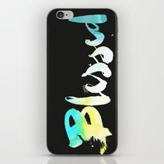 Blessed iPhone & iPod Skin