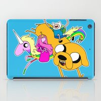Adventure Time iPad Case