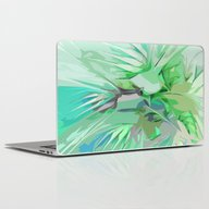Palm Trees Abstract Laptop & iPad Skin