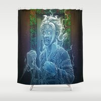 Marley's Christmas Carol Shower Curtain
