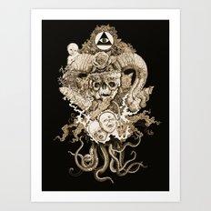 Demon Art Print