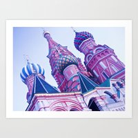 Beautiful Pastel Colors. Art Print