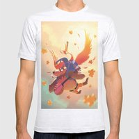 Banjo Kazooie Mens Fitted Tee Ash Grey SMALL