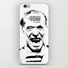 Charles Bukowski Quote L… iPhone & iPod Skin