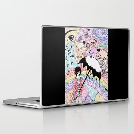 A Word is Worth 1000 pictures. Laptop & iPad Skin