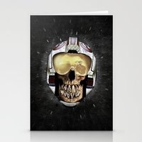...WAS     (Skull Series… Stationery Cards