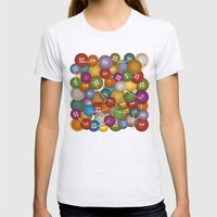 Buttons Womens Fitted Tee Ash Grey SMALL