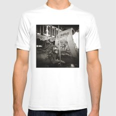 { merry go round } Mens Fitted Tee White SMALL
