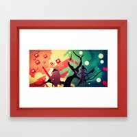 We See It Our Own Way Framed Art Print