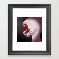 Mindnumbing Pain Framed Art Print